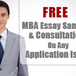 Sample Essays For MBA Admissions